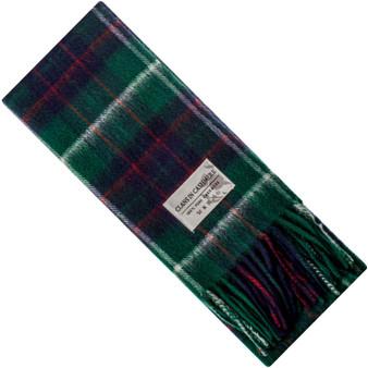Luxury 100% Cashmere Scottish Clan Scarf MacIntyre Hunting Modern