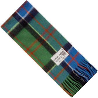 Luxury 100% Cashmere Scottish Clan Scarf Sinclair Hunting Modern