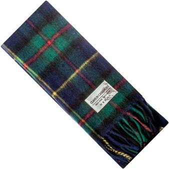 Luxury 100% Cashmere Scottish Clan Scarf MacLeod of Harris Modern