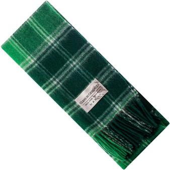 Luxury 100% Cashmere Scottish Clan Scarf MacDonald Lord of Isles Modern