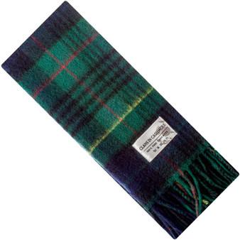 Luxury 100% Cashmere Scottish Clan Scarf Stewart Hunting Modern