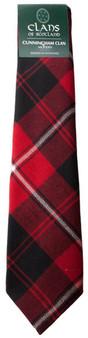 Cunningham Clan 100% Wool Scottish Tartan Tie