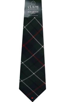 Duncan Clan 100% Wool Scottish Tartan Tie