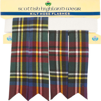 Kilt Flashes Royal Stewart Tartan