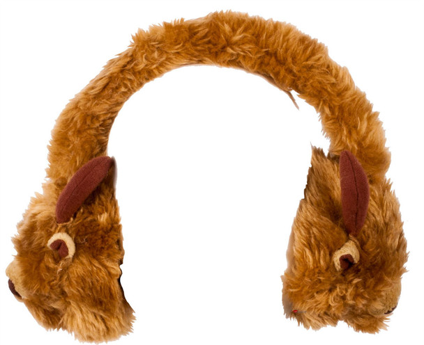 Scottish Highland Cow Ear Muffs Soft And Comfy