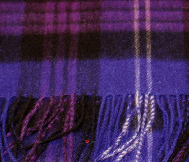 100% Cashmere Scarf in Heritage of Scotland Tartan