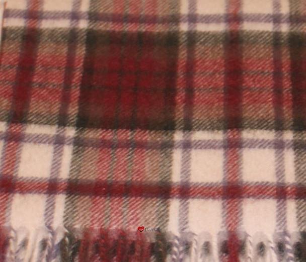 100% Cashmere Scarf in MacDuff Dress Tartan