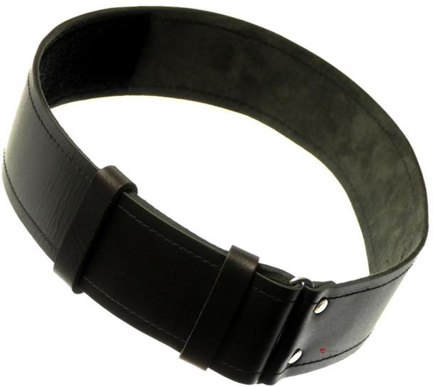 Scottish Kilt Belt Basic Plain Leather Hide Medium