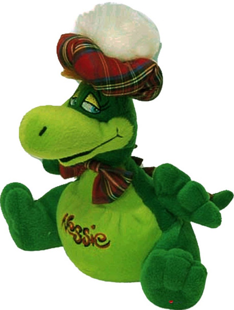 18 Inch Large Sitting Loch Ness Nessie Toy Cute Loch Ness Soft Toy for Children