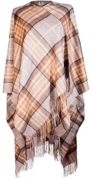 Ladies Luxurious Cashmere Cape in MacKellar Tartan