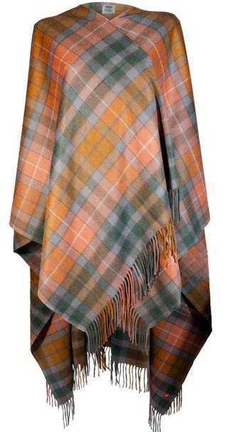 Ladies Luxurious Cashmere Cape in Buchanan Antique Tartan
