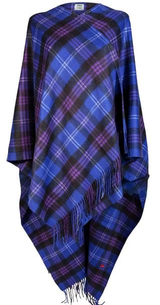 Ladies Luxurious Cashmere Cape in Heritage of Scotland Tartan