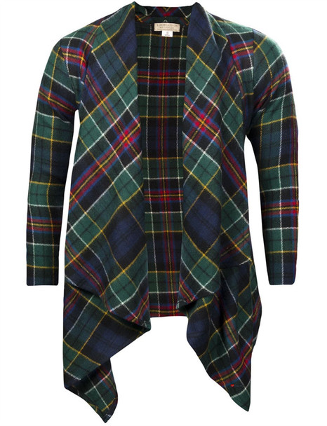Kerry Jacket Lambswool Allison Modern Tartan