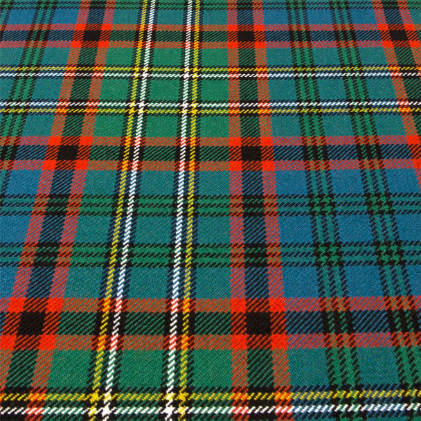 Heavy Weight 16oz Fabric Material Cunningham Hunting Ancient Tartan 1 Metre
