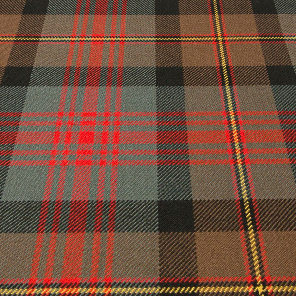 Heavy Weight 16oz Fabric Material Logan Weathered Tartan 1 Metre