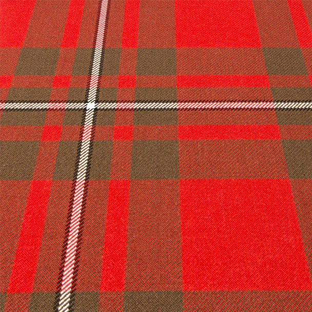 Heavy Weight 16oz Fabric Material MacGregor Weathered Tartan 1 Metre
