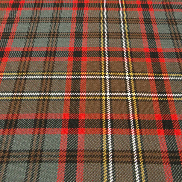Heavy Weight 16oz Fabric Material Cunningham Hunting Weathered Tartan 1 Metre