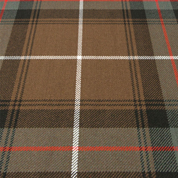 Heavy Weight 16oz Fabric Material MacDonald of the Isles Hunting Weathered Tartan 1 Metre
