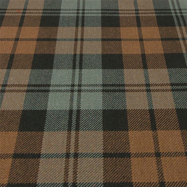 Heavy Weight 16oz Fabric Material Munro Hunting Weathered Tartan 1 Metre