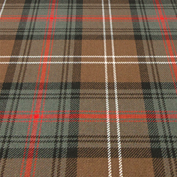 Heavy Weight 16oz Fabric Material Sutherland Old Weathered Tartan 1 Metre