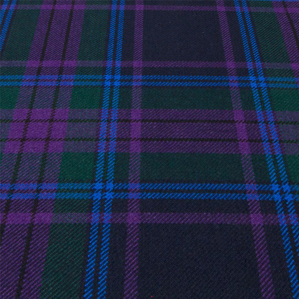 Heavy Weight 16oz Fabric Material Spirit of Scotland Modern Tartan 1 Metre