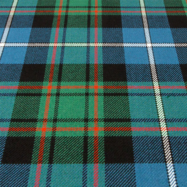 Heavy Weight 16oz Fabric Material MacRae Hunting Ancient Tartan 1 Metre