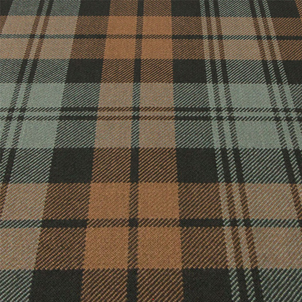 Heavy Weight 16oz Fabric Material Sutherland Hunting Weathered Tartan 1 Metre