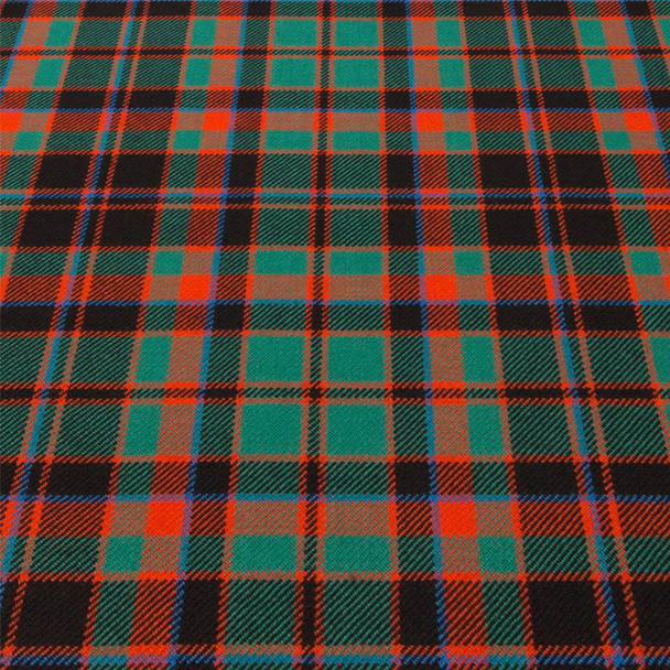 Light Weight 10oz Fabric Material Buchan Ancient Tartan 1 Metre