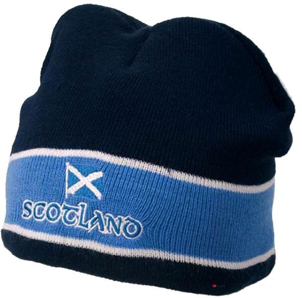 Navy Baseball Cap Saltire Peak Scottish Design Saltire Peak Scotland Cap