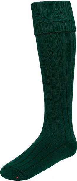 Bottle Green Kilt Hose Socks