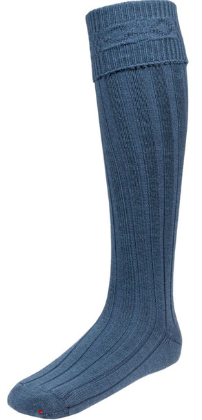 Ancient Blue Kilt Hose Socks