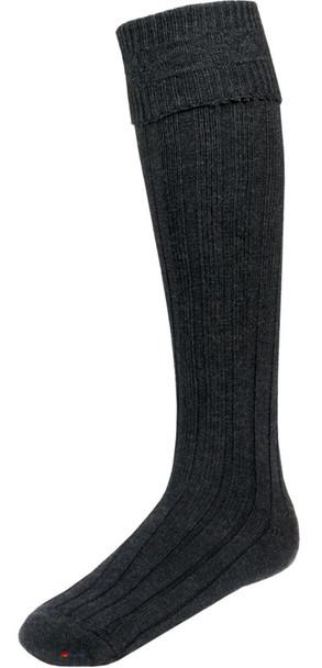 Charcoal Kilt Hose Socks