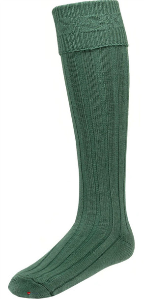 Mens Ancient Green Kilt Hose Socks