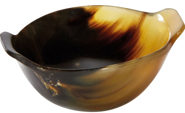 Horn Quaich Natural Product Scottish Tasting Bowl 75mm Ideal Christening Gift