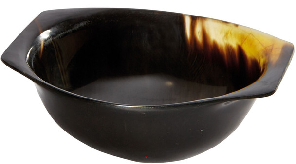 Horn Quaich Natural Product Scottish Tasting Bowl 95mm Ideal Christening Gift