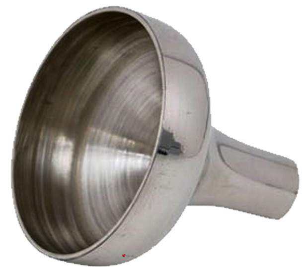Compact Pewter Funnel Hip Flask Accessory