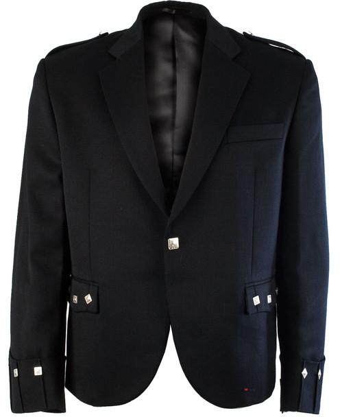 Argyll Kilt Jacket Pure Barathea Wool