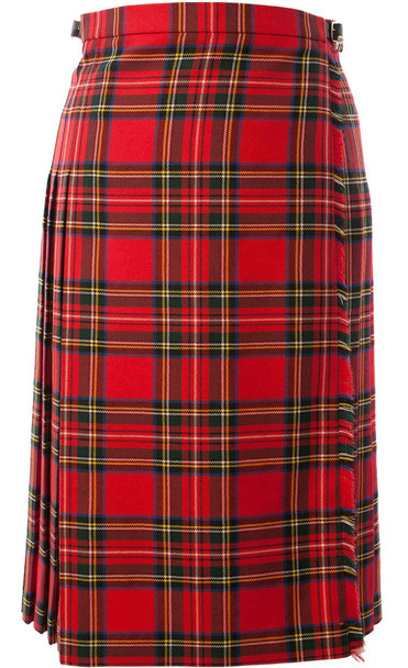 "Ladies 28"" Full Length Kilt Stewart Royal"