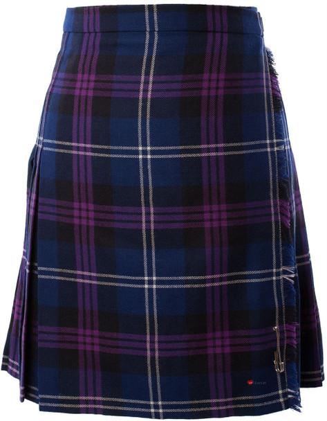 12oz Ladies Knee Length Kilt Heritage of Scotland Size UK Polyester Mix