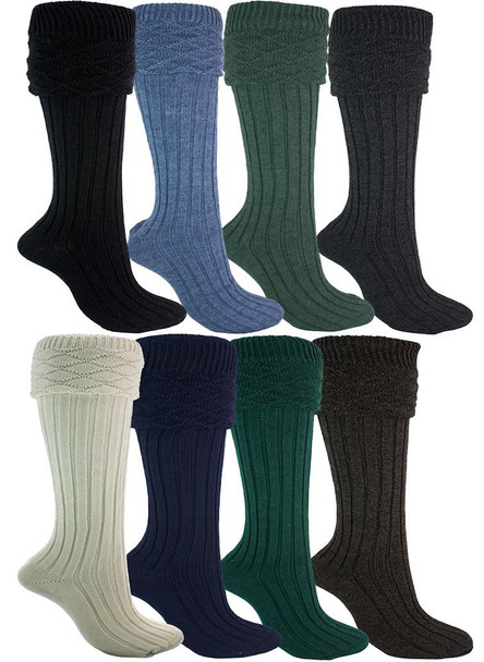 Kilt Hose In 8 Colours Socks