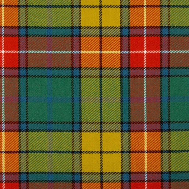 Braeriach 13oz Medium Fabric Buchanan Ancient Tartan 1 Metre