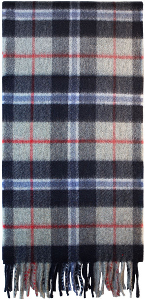 Scottish Soft Cashmere Scarf Douglas Navy Tartan