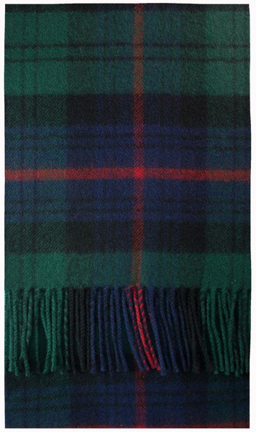 Armstrong Modern Tartan Brushwool Scarf Scottish Clan