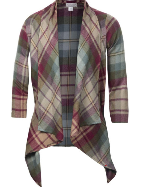 Ladies Kerry Jacket Auld Scotland Tartan