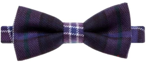 Wool Bow Tie Scotland Forever Modern Tartan
