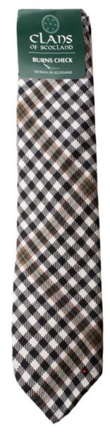 Burns Clan 100% Wool Scottish Tartan Tie