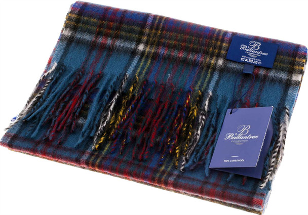 100% Lambswool Scarf Anderson Scottish Gift Winter Scotland