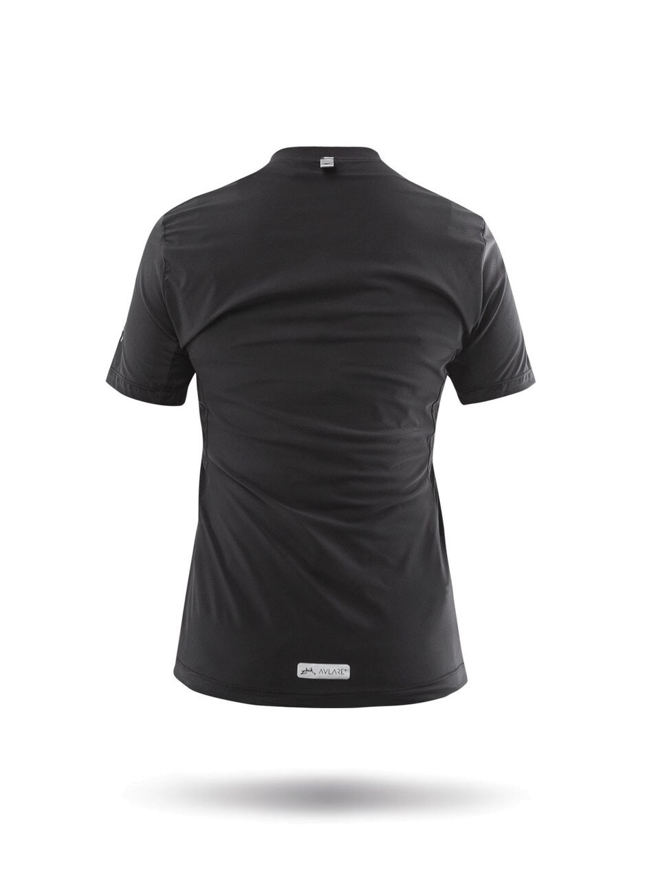 Zhik Avlare LT Short Sleeve Tee - Black (back)