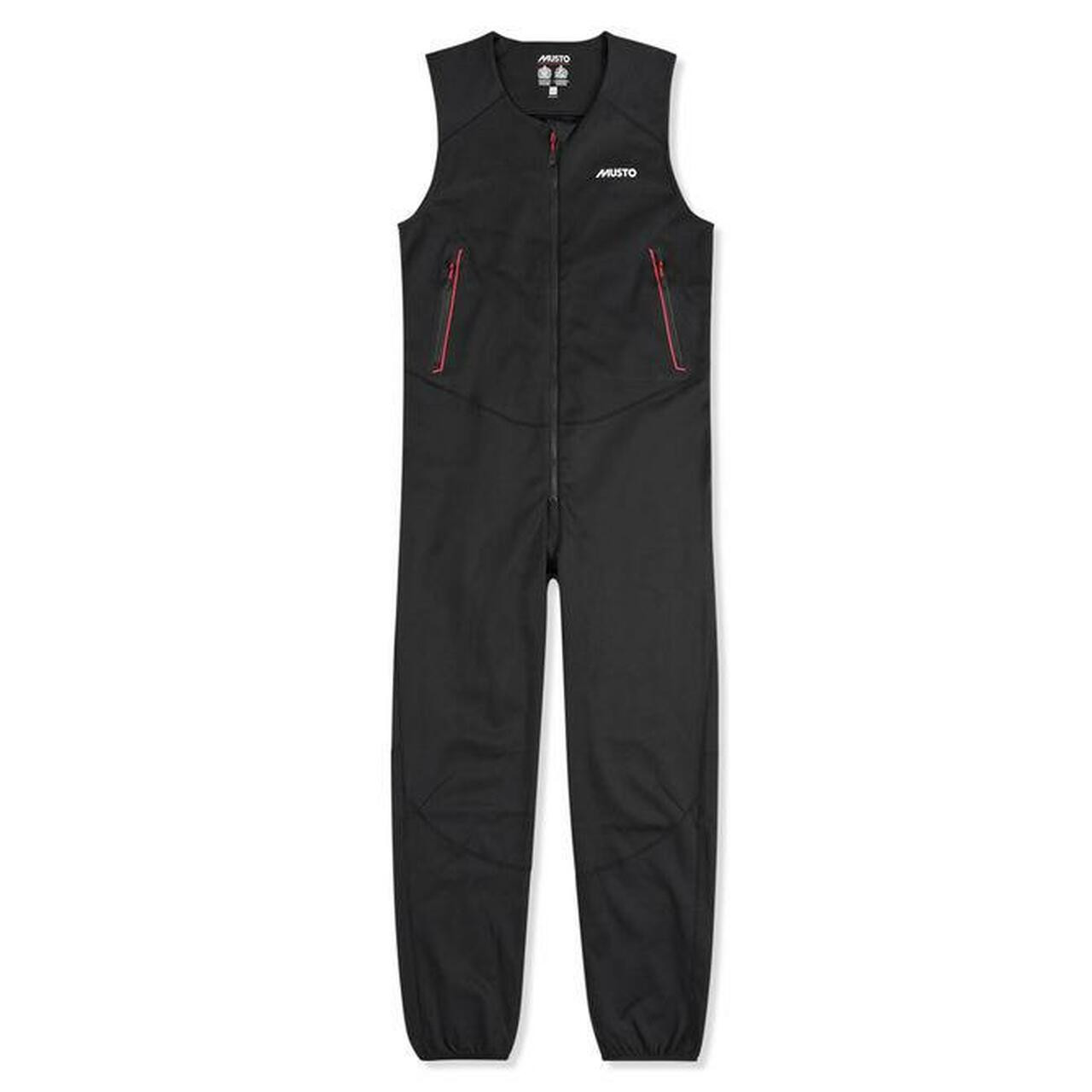Musto Frome Mid Layer Salopette - Black