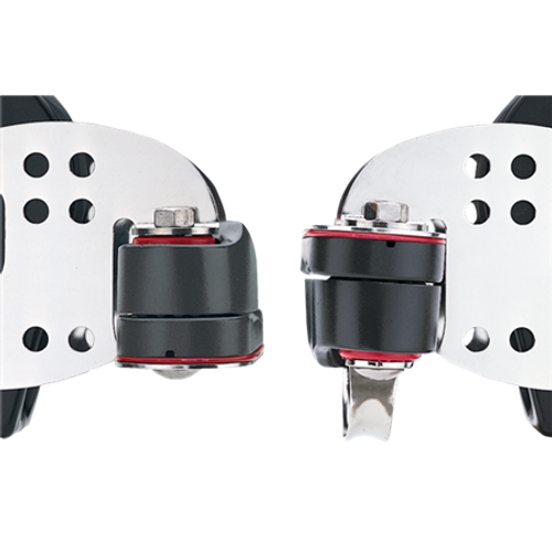 Harken 3.00 Midrange Triple with Hex Cam Cleat and Becket